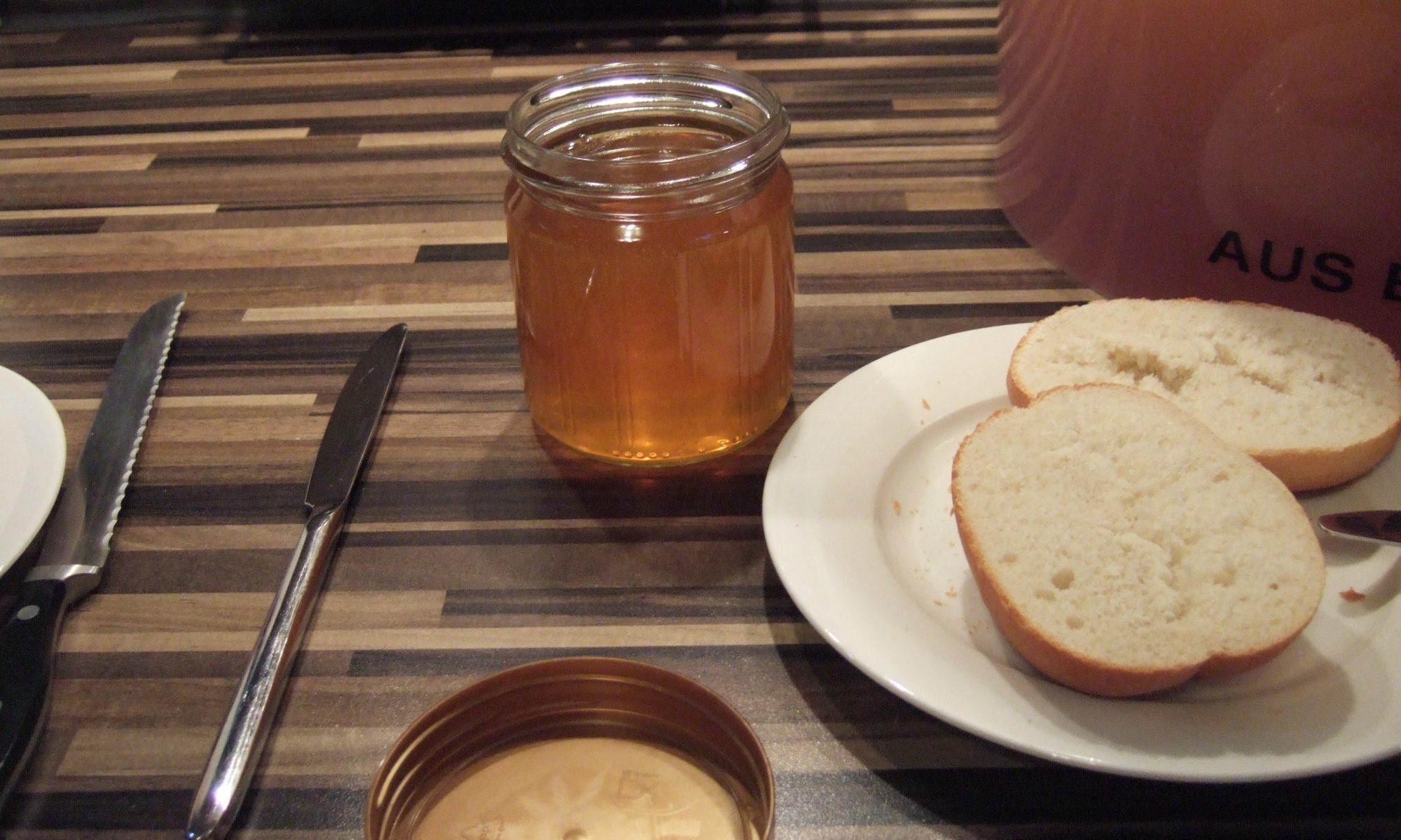 Feldlerche Honig